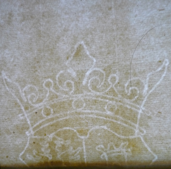 antique watermarks paper